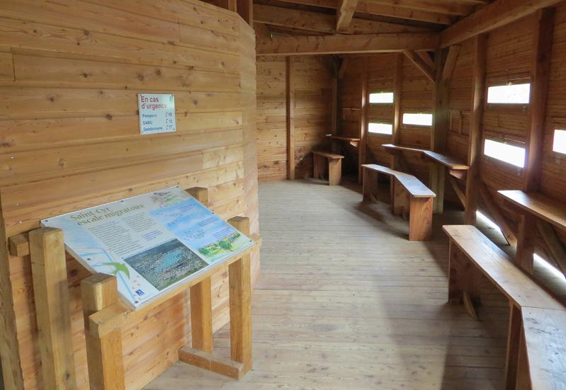 St Cyr reserve hide © Ken Hall (click for larger image)